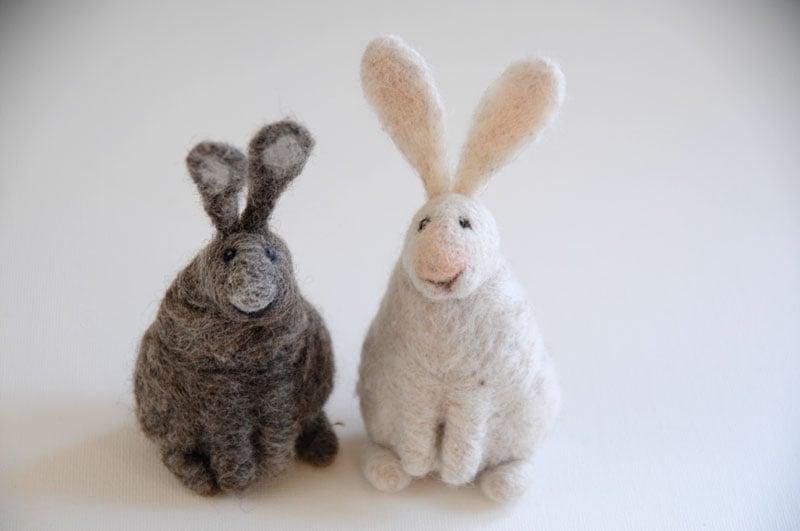 Image of Bunny Rabbit - Needle Felting Kit