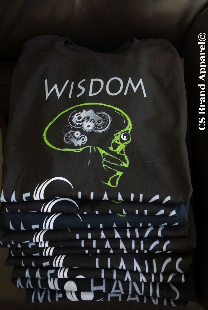 Image of Wisdom Mechanics T. Black and Space Green