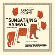 Image of Pre Order: Parquet Courts Sunbathing Animal Glow In The Dark LP WYR0514GITD