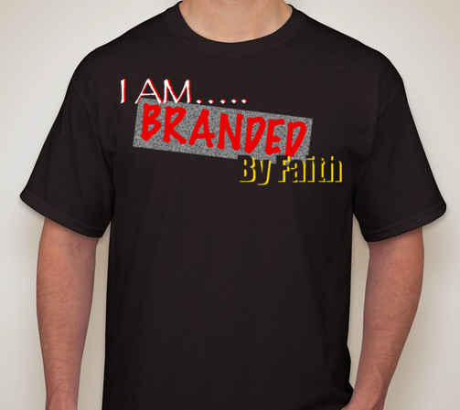 Image of I AM Branded By Faith T-shirt