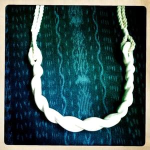Image of Ceramic Rope Necklace •2