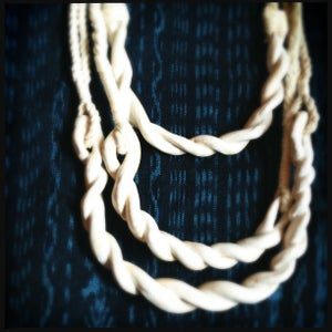 Image of Ceramic Rope Necklace •2