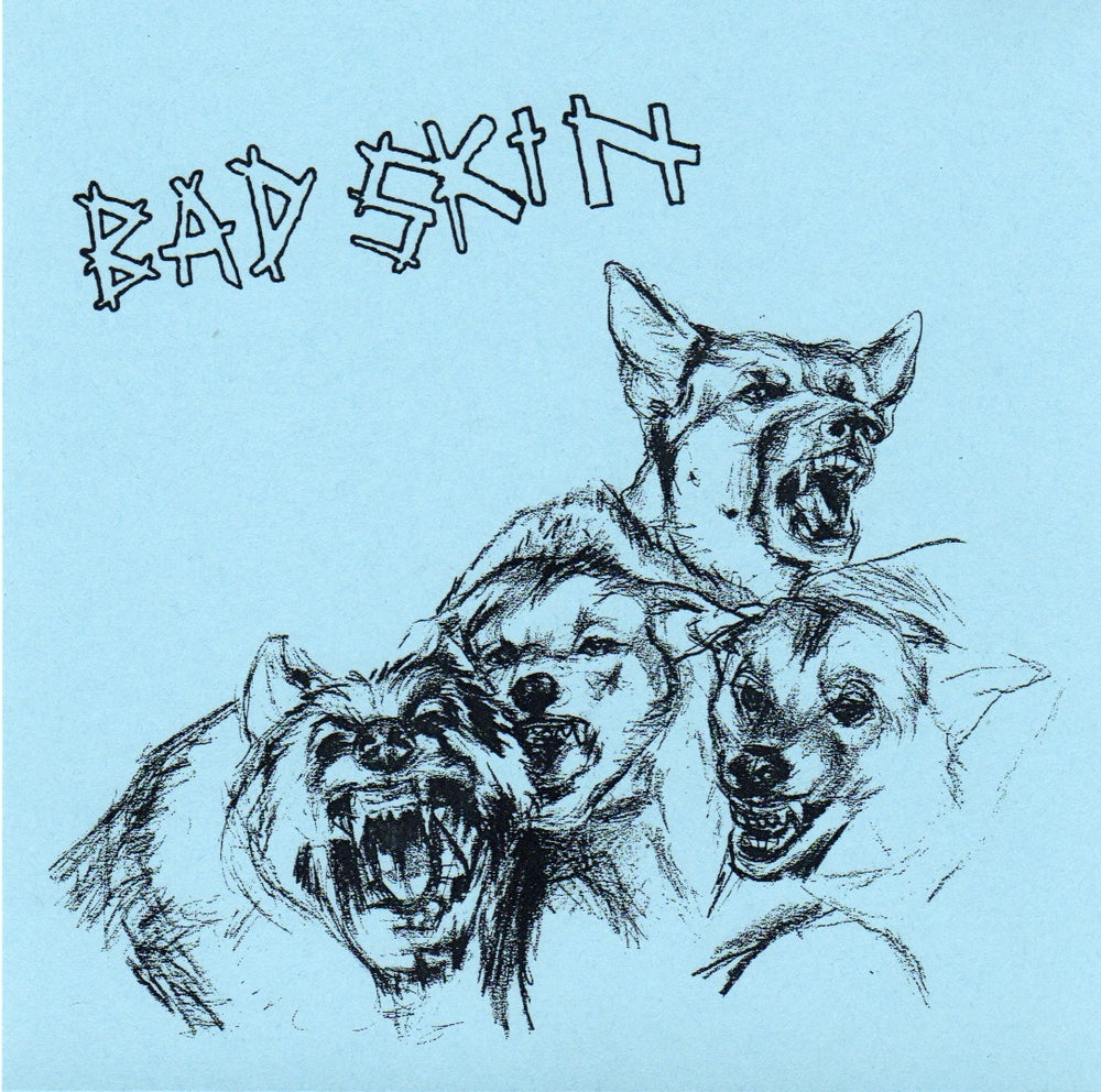 Image of Bad Skin 'We're Dogs' 7""