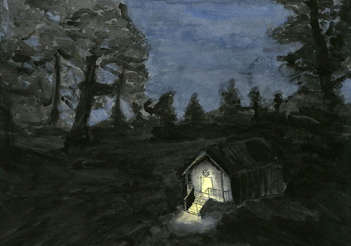 Image of Alone in the Forest