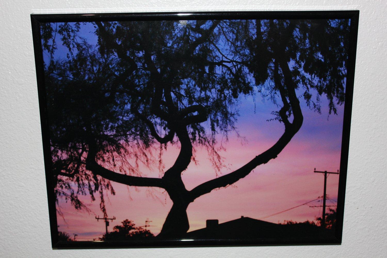 """Image of """"Skyline"""" Framed Prints by Krazy Race"""