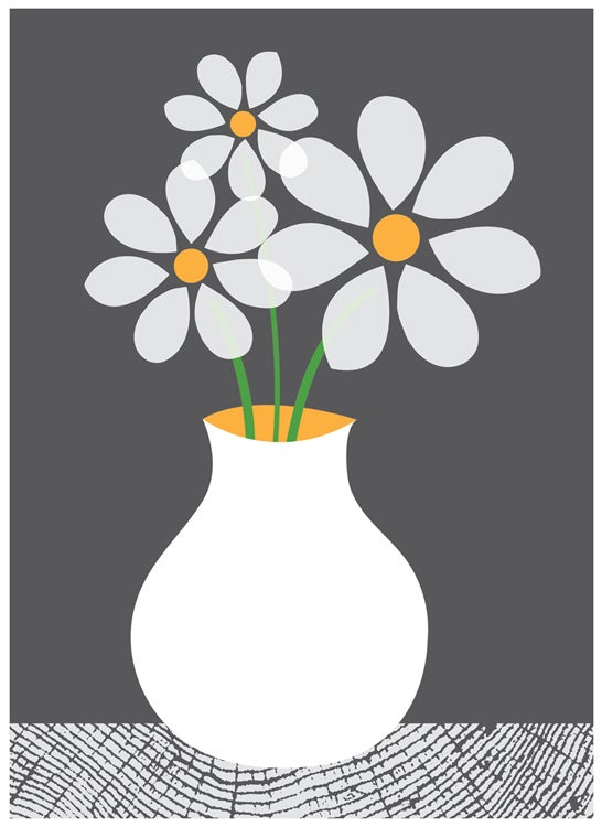 Image of Daisies art print
