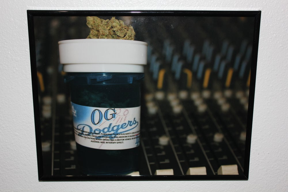 "Image of ""OG Dodgers"" Print by Krazy Race"