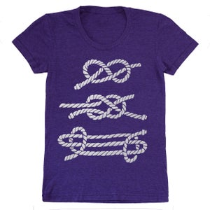 Image of Nautical Knots - Womens SM | Kids Size 2 | Babies 6-12 Months