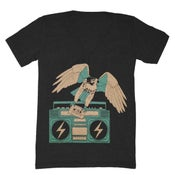Image of Hawk V-neck Tee - Unisex XXS, XS