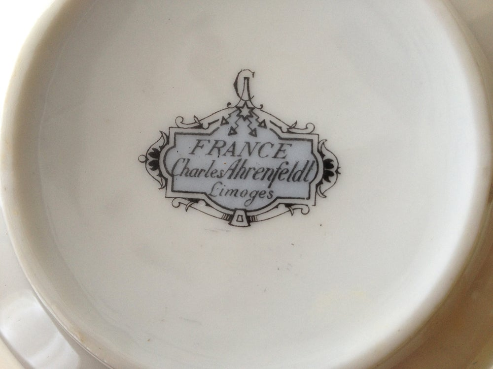 Image of Limoges Cup and Saucer