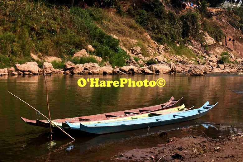 Image of BOATS ON THE RIVER KHAN