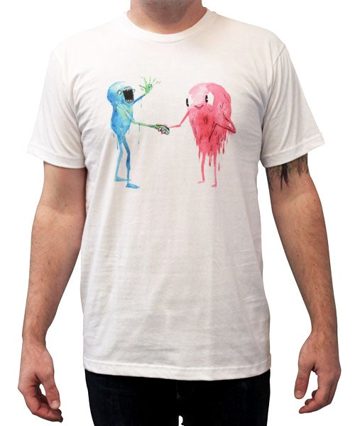 Image of Back Pact | By Alex Pardee | T Shirt