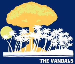 Image of The Vandals: Atomic Paradise Tee (Super Softy) 3XL!!