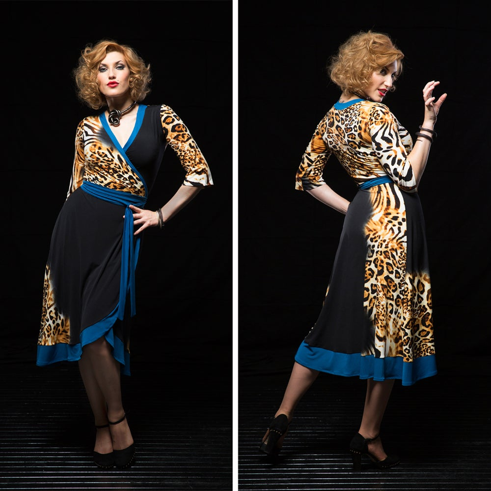 Image of LILIANA WRAP DRESS...