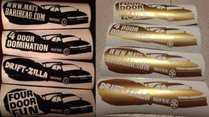 Image of GITN Drift Stickers