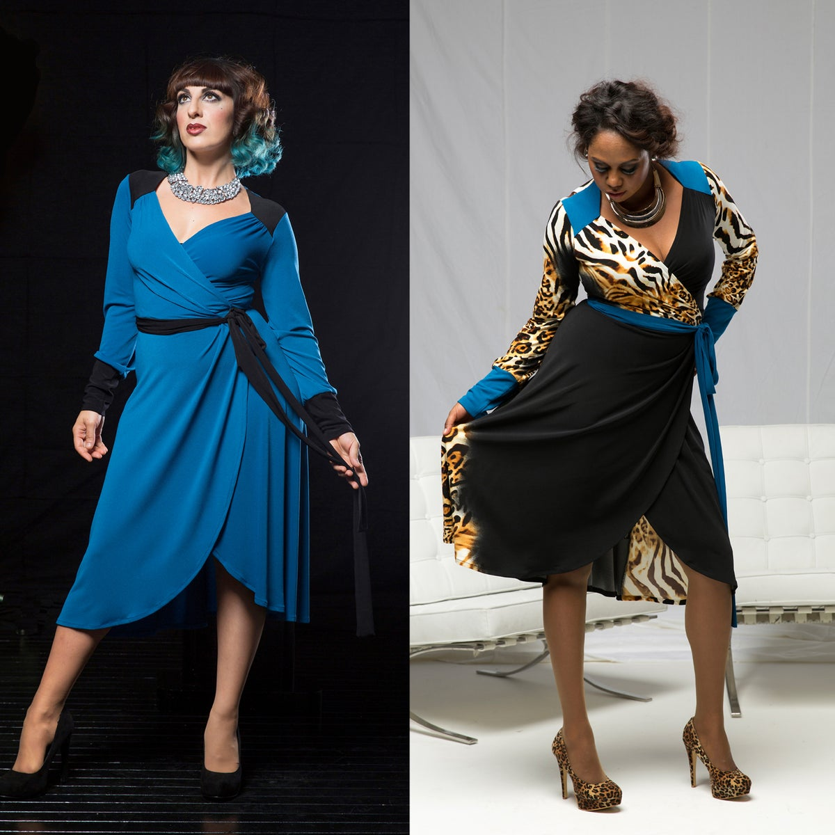 Image of MARGUERITE WRAP DRESS (other options available)