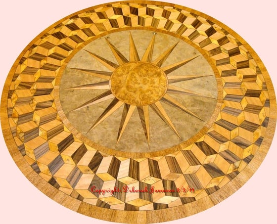 Image of Item No. 277. Exquisite Nautical Marquetry Inlay.