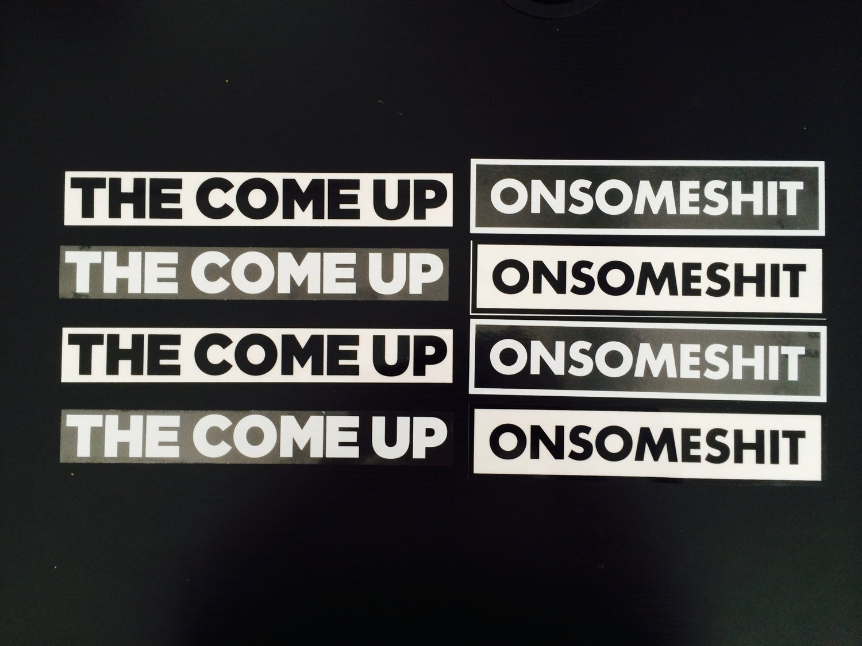 Image of OSS & TCU Stickers
