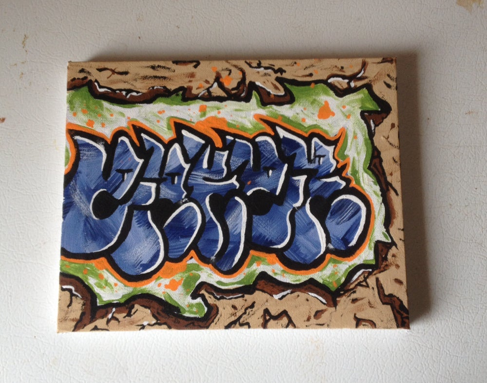 Image of Small eaker canvas
