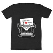 Image of V-Neck | NY, I Love You. - Unisex XXS, XS