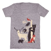 Image of V-Neck Forest Friends - XXS, XS, LG