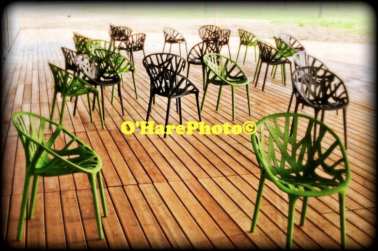 Image of GREEN CHAIRS