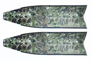 Image of Cartel Dive Ghost Camo Glass Fibre Fins Reduced From $360