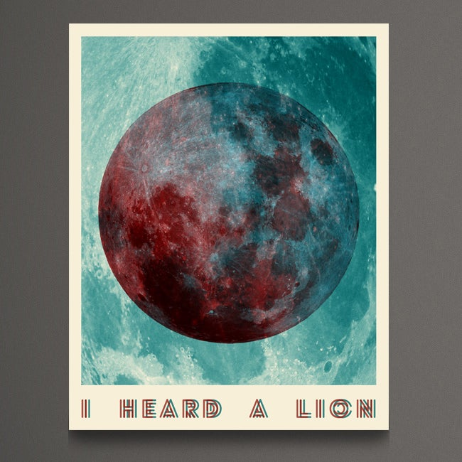 Image of Moon Poster