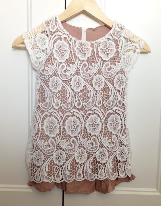 Image of Double Layer Lace Dress