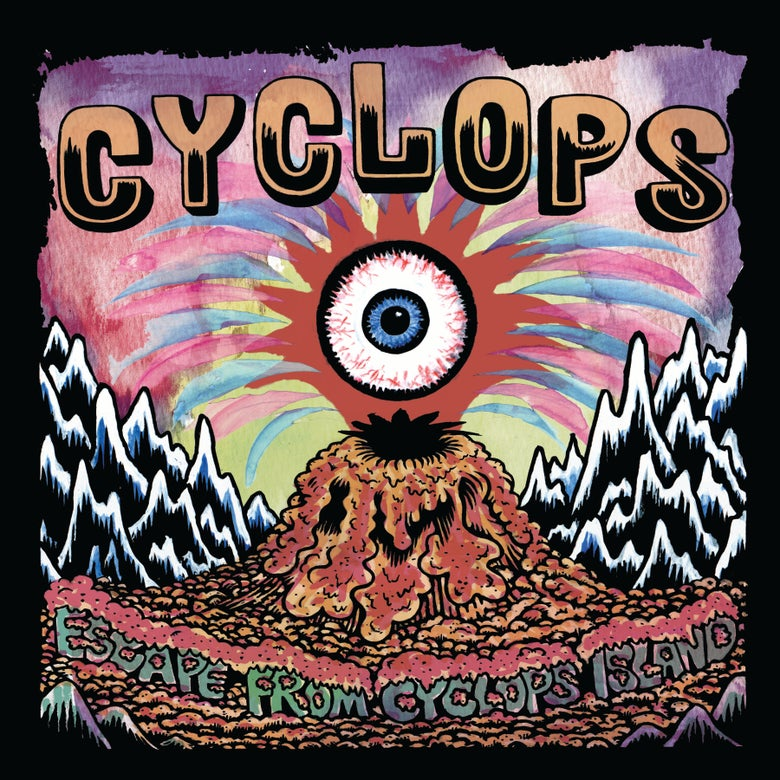 "Image of Cyclops ""Escape From Cyclops Island"" 10""  OUT NOW!!!"
