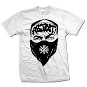 "Image of ABJECT! ""Bandana Guy"" White T-Shirt"