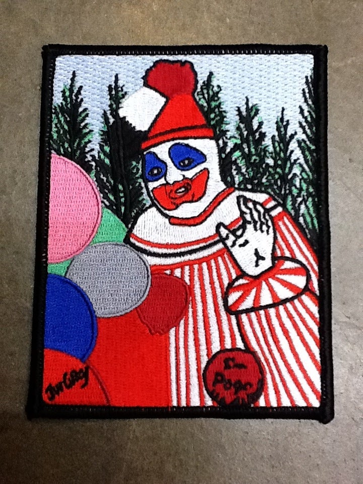 Image of Pogo the Clown Embroidered Patch