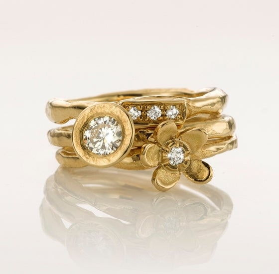 Beeld van Stacking ring yellow gold