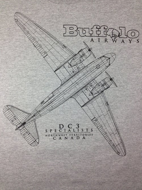 Image of Discontinued - DC-3 Draft Tee