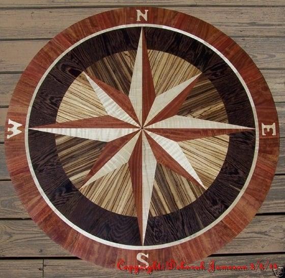 Image of Item No. 144. Nautical Compass Star.
