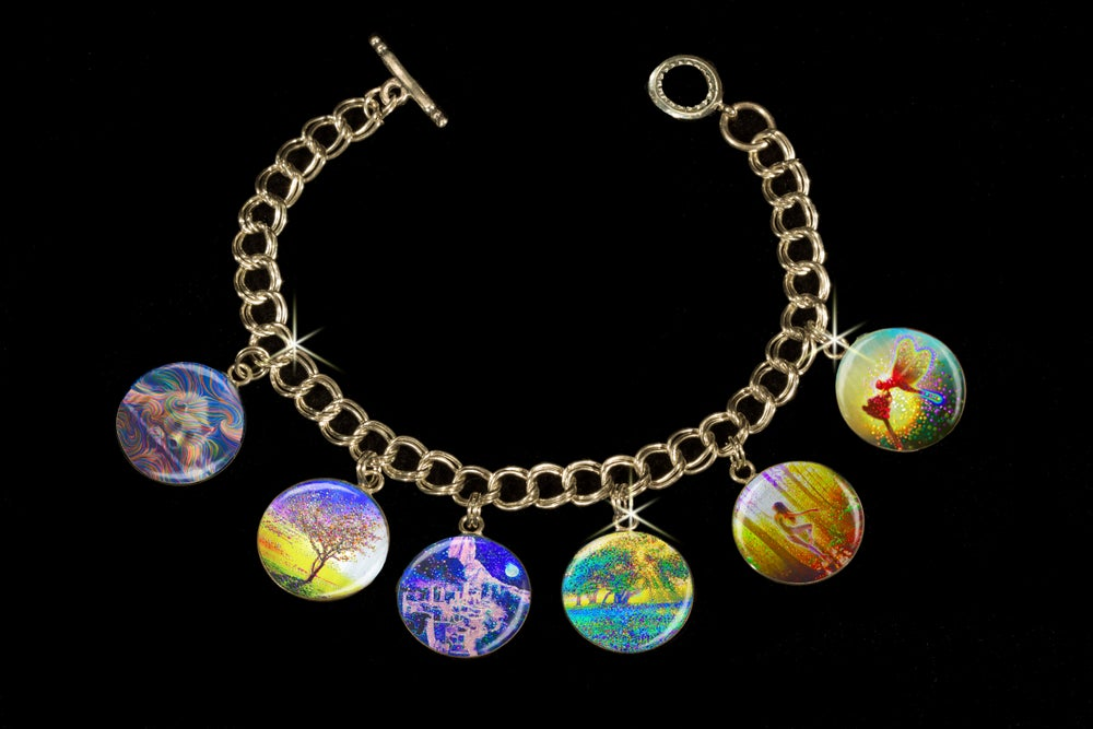 Image of Peace & Harmony Metaphysical Charm Bracelet  - Use discount code CHARM50 to get $50 off this price