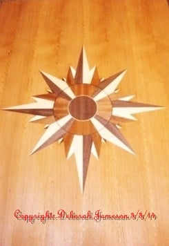 Image of Item No. 152 Navigational Compass Star.