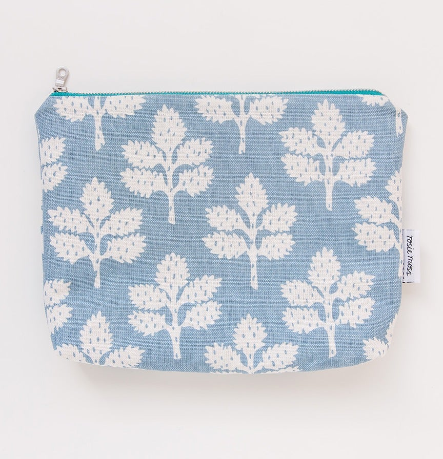 Image of 'Leafy' Cosmetic Pouch