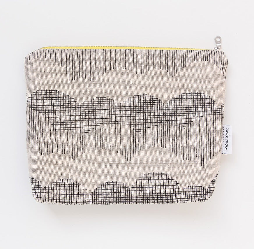 Image of 'Clouds' Cosmetic Pouch