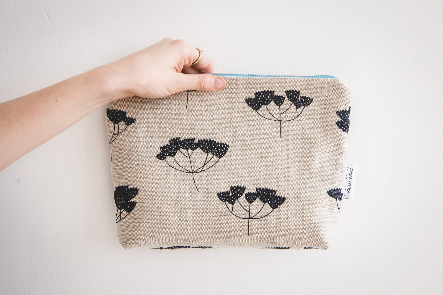Image of 'Seeds' Cosmetic Pouch