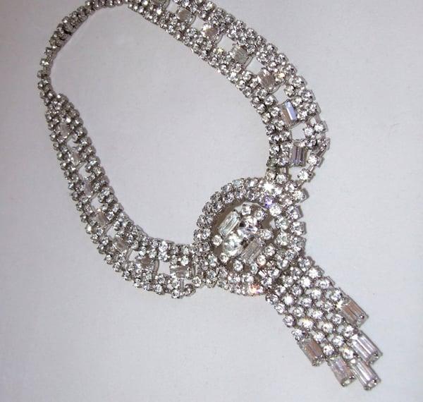 Caro Vintage Diamante Necklace - Laura Pettifar Designs