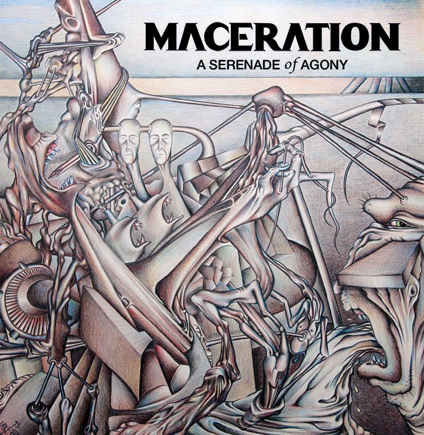 "Image of Maceration ""A Serenade of Agony"" CD"