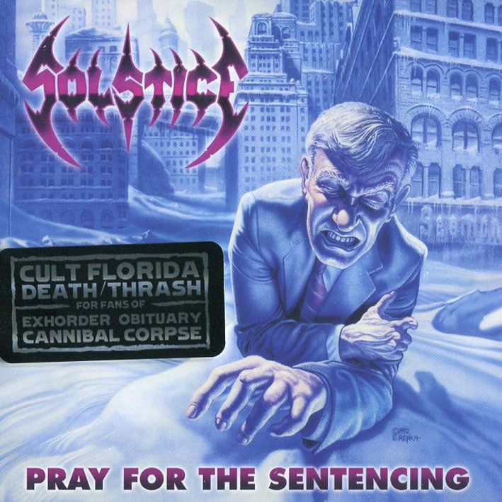 "Image of SOLSTICE ""Pray For The Sentencing"" 2xCD (reissue)"