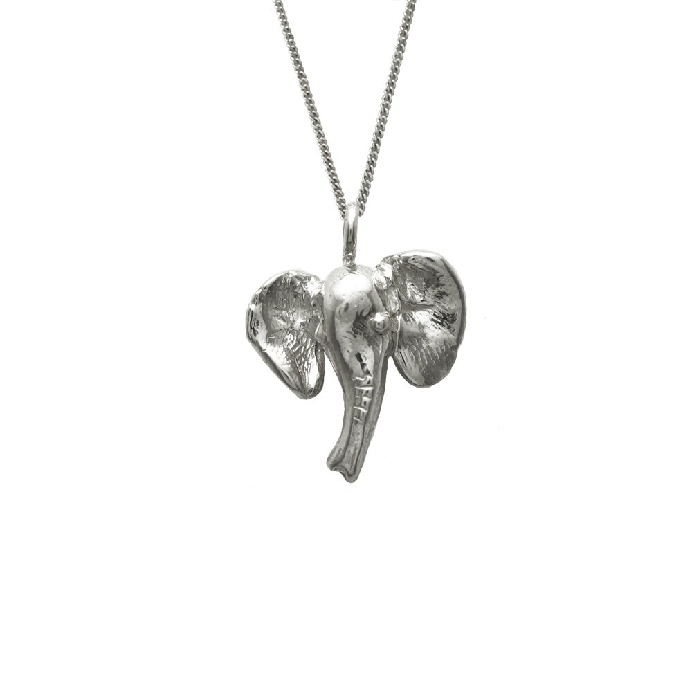 Image of Elephant Necklace 3D