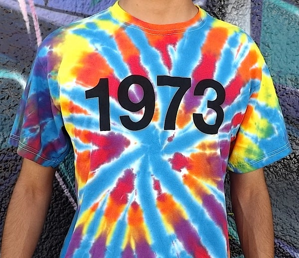 Image of TIE DYE 1973 'BIRTH OF HIP-HOP'