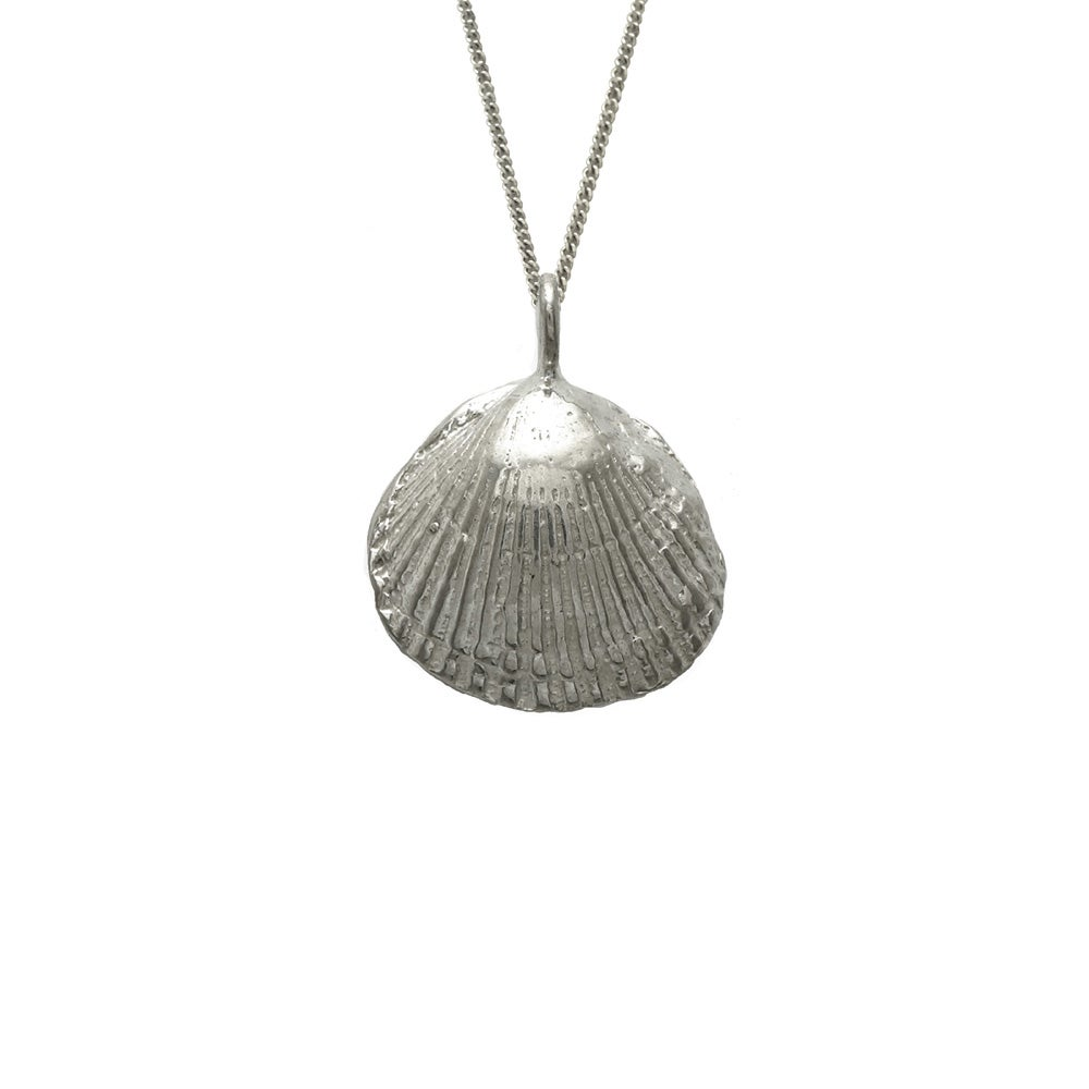Image of Shell Necklace Clam 3D