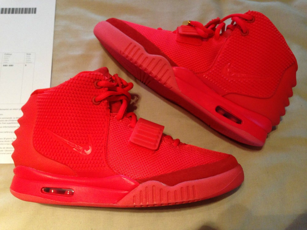 pretty nice 909a7 ef8ce Image of Nike Air Yeezy  Red October