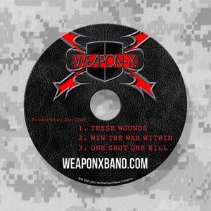 Image of Weapon-X CD