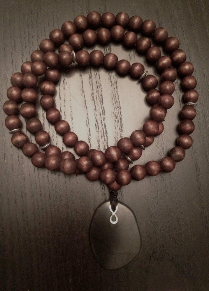 Image of Infinity Mala in Wood