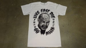 Image of GG Allin Two Sided Tee Shirt